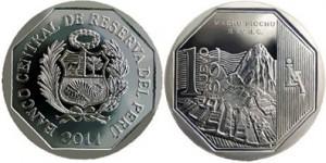Богатство и гордость Перу на монетах