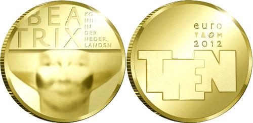 Монетный двор Голландии изобразил скульптурное искусство на новых монетах