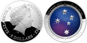 Уникальная выпуклая монета Монетного Двора Австралии