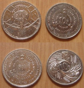 Правительство Бурунди заменило часть банкнот монетами