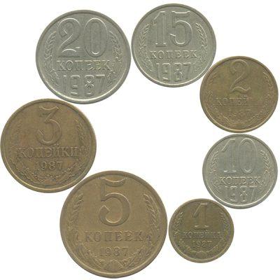 Наборы монет СССР